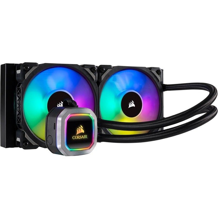Corsair Hydro H100i RGB PLATINUM Cooling Fan/Radiator - Processor