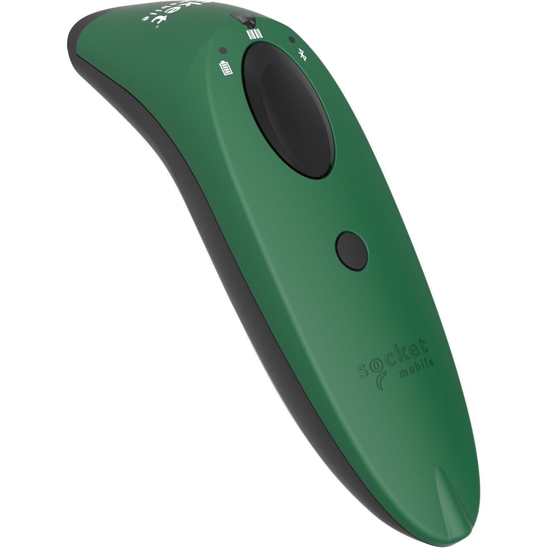 Socket Mobile SocketScan S740 Handheld Barcode Scanner - Wireless Connectivity - Green