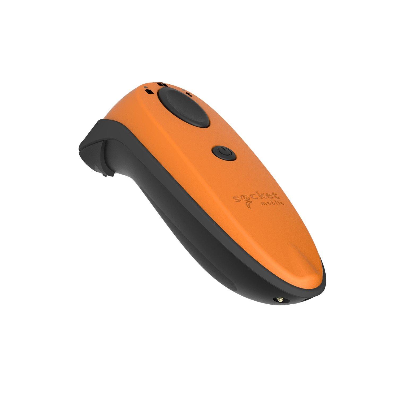 Socket Mobile DuraScan D740 Handheld Barcode Scanner - Wireless Connectivity - Construction Orange