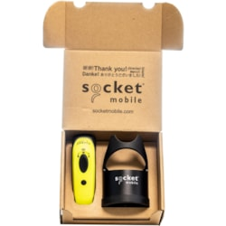 Socket Mobile DuraScan D760 Handheld Barcode Scanner - Wireless Connectivity - Safety Green