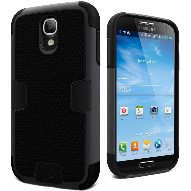 Cygnett WorkMate Evolution Case for Smartphone - Textured - Black, White