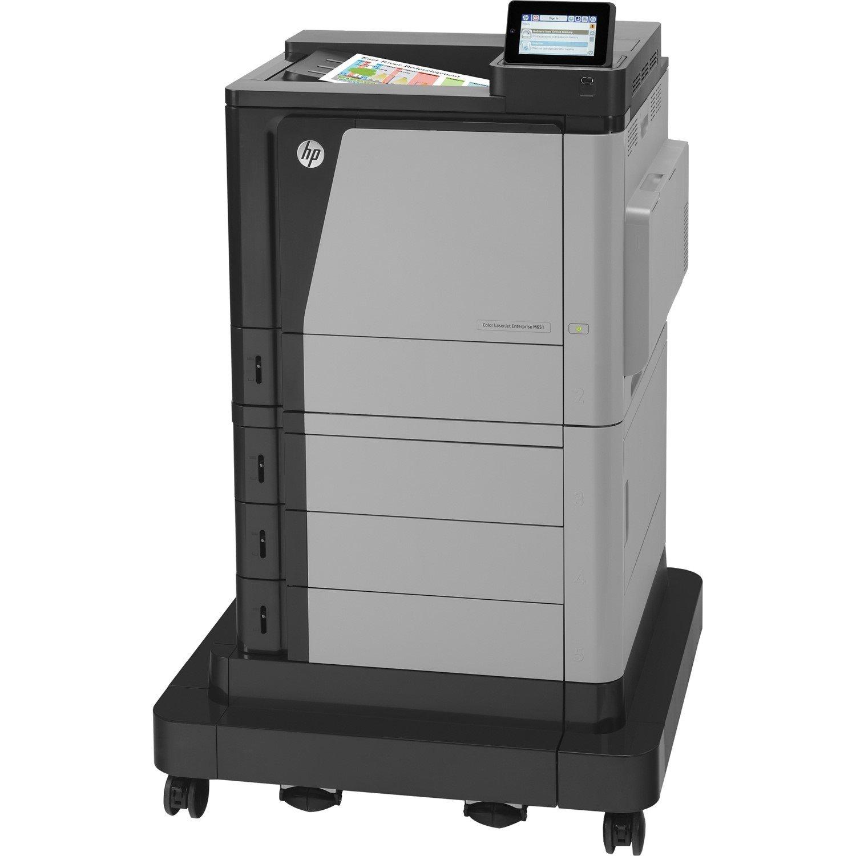 HP LaserJet M651xH Laser Printer - Colour