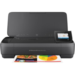 HP Officejet 250 Inkjet Multifunction Printer - Colour - Plain Paper Print - Portable