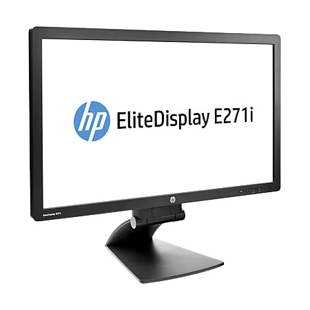"HP Business E271i 68.6 cm (27"") Full HD LED LCD Monitor - 16:9 - Black"