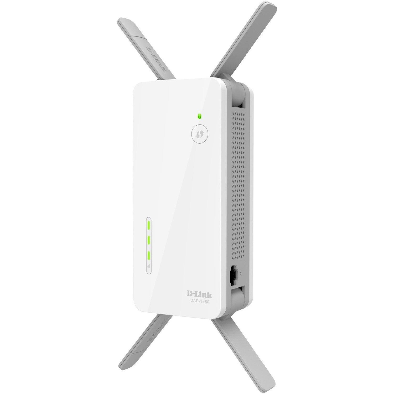 D-Link DAP-1860 IEEE 802.11ac 2.54 Gbit/s Wireless Range Extender
