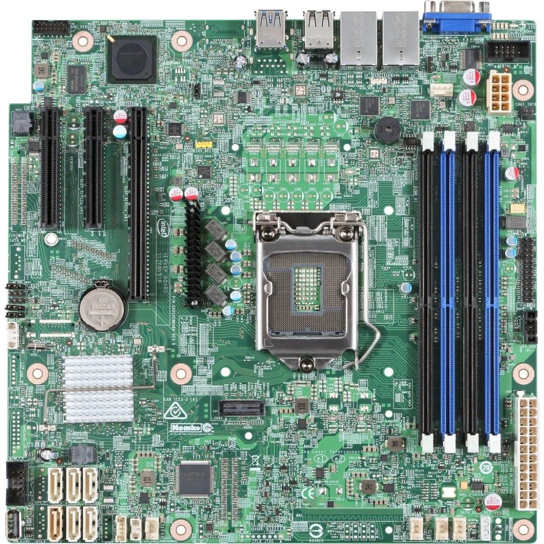 Intel S1200SPSR Server Motherboard - Intel Chipset