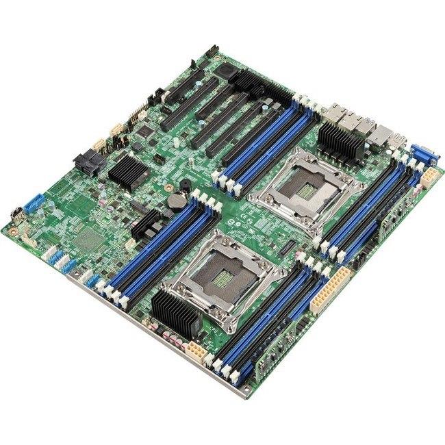 Intel S2600CWTR Server Motherboard - Intel Chipset - Socket LGA 2011-v3