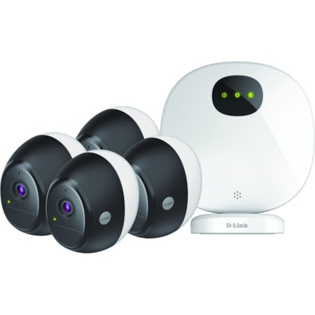 D-Link Omna 2 Megapixel Night Vision Wireless, Wired Video Surveillance System