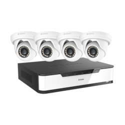 D-Link 16 Channel Night Vision Wired Video Surveillance System