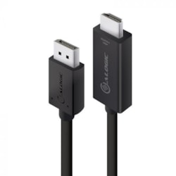 Alogic Element DisplayPort/HDMI A/V Cable for Audio/Video Device, Computer - 2 m - Shielding