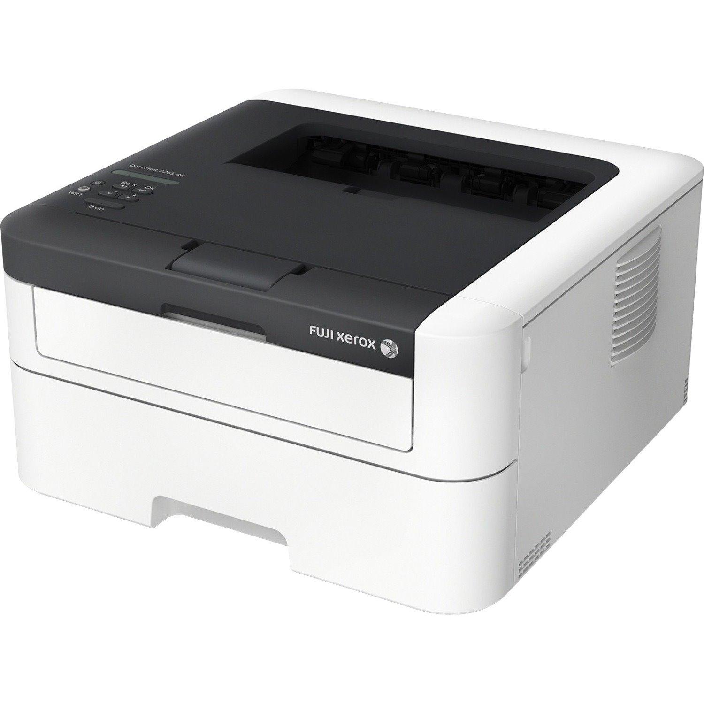 Fuji Xerox DocuPrint P265 dw Laser Printer - Monochrome - 2400 x 600 dpi Print - Plain Paper Print - Desktop
