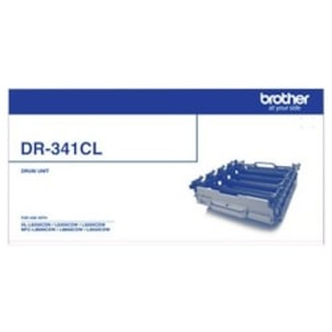 Brother DR341CL Laser Imaging Drum - Cyan, Magenta, Yellow, Black
