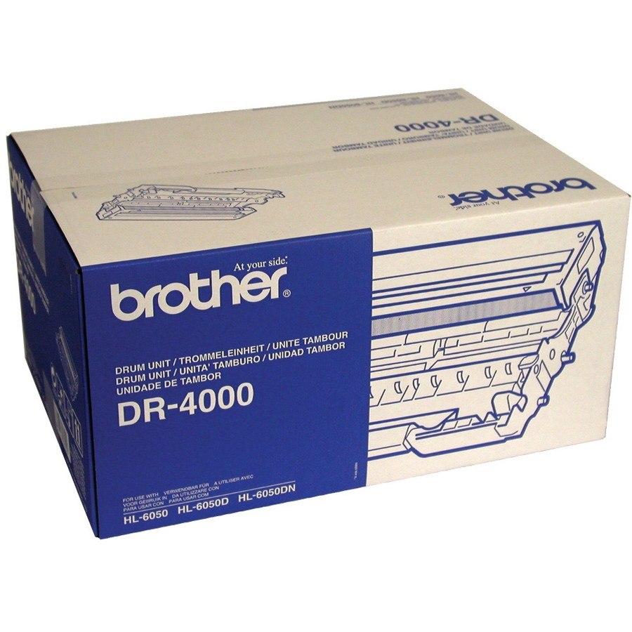 Brother DR-4000 Laser Imaging Drum for Printer - Black