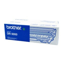 Brother DR-3000 Laser Imaging Drum for Printer - Black