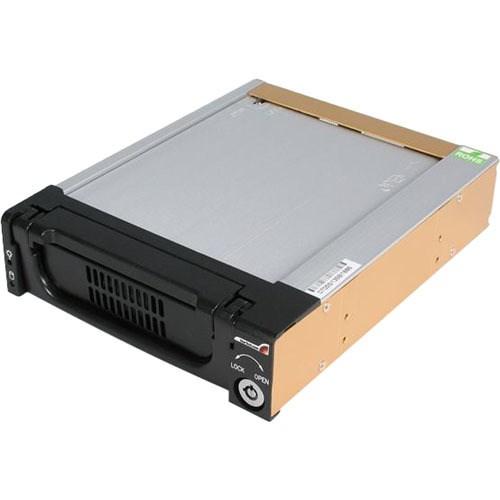 "StarTech.com DRW150SATBK Drive Bay Adapter for 5.25"" Serial ATA/600 - Serial ATA/600 Host Interface Internal - Black"