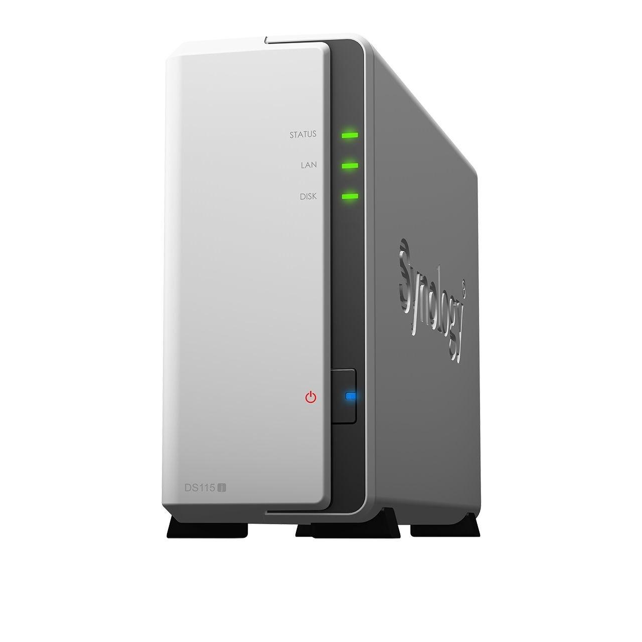 Synology DiskStation DS115j 1 x Total Bays NAS Storage System - External