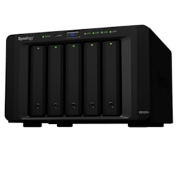 Synology DiskStation DS1515+ 5 x Total Bays NAS Storage System - Intel Atom Quad-core (4 Core) 2.40 GHz - 2 GB RAM - DDR3 SDRAM External