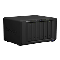 Synology DiskStation DS1618+ 6 x Total Bays SAN/NAS Storage System - Intel Atom Quad-core (4 Core) 2.10 GHz - 4 GB RAM - DDR4 SDRAM Desktop