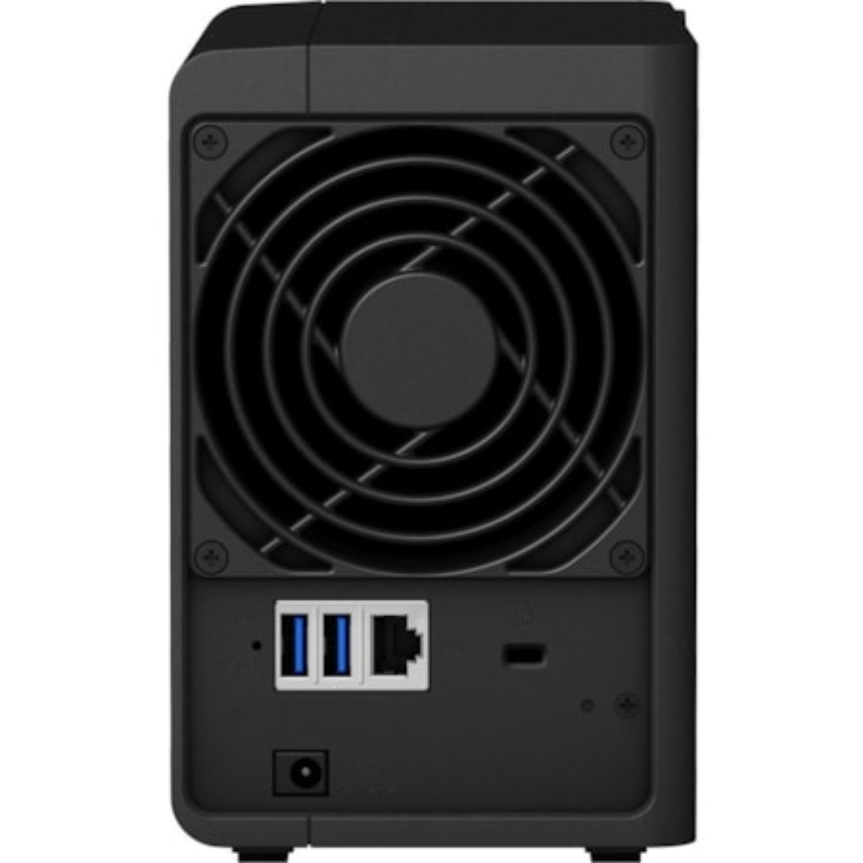 Synology DiskStation DS218 2 x Total Bays SAN/NAS Storage System - Realtek Quad-core (4 Core) 1.40 GHz - 2 GB RAM - DDR4 SDRAM Desktop