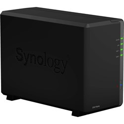 Synology DiskStation DS218play 2 x Total Bays SAN/NAS Storage System - Realtek Quad-core (4 Core) 1.40 GHz - 1 GB RAM - DDR4 SDRAM Desktop
