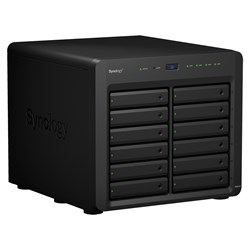 Synology DiskStation DS2419+ 12 x Total Bays SAN/NAS Storage System - Intel Atom Quad-core (4 Core) 2.10 GHz - 4 GB RAM - DDR4 SDRAM Desktop