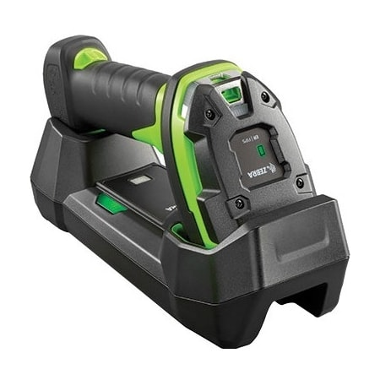 Zebra DS3608-ER Handheld Barcode Scanner - Cable Connectivity - Industrial Green