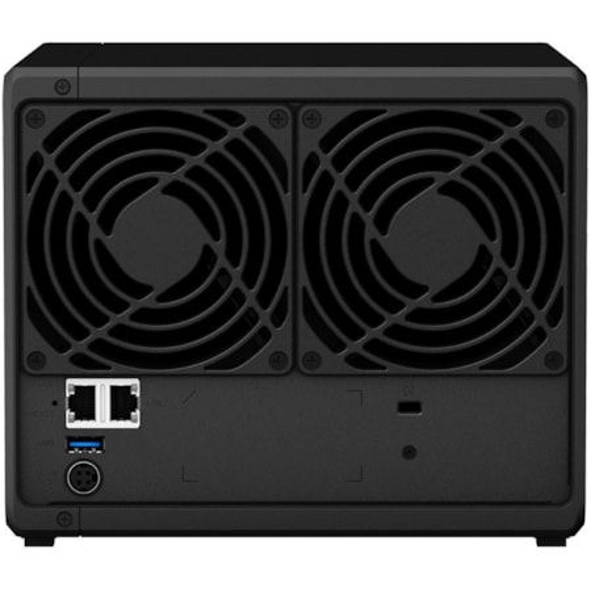 Synology DiskStation DS418 4 x Total Bays SAN/NAS Storage System - Realtek Quad-core (4 Core) 1.40 GHz - 2 GB RAM - DDR4 SDRAM Desktop