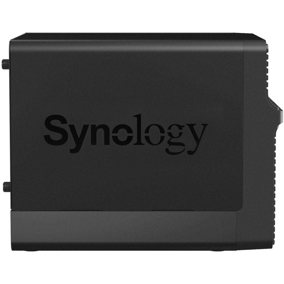 Synology DiskStation DS418J 4 x Total Bays SAN/NAS Storage System - Realtek Dual-core (2 Core) 1.40 GHz - 1 GB RAM - DDR4 SDRAM Desktop