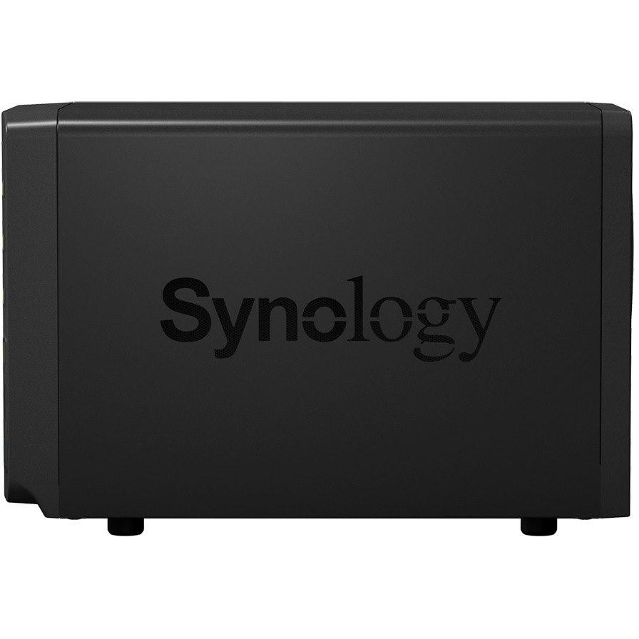 Synology DiskStation DS718+ 2 x Total Bays SAN/NAS Storage System - Intel Celeron Quad-core (4 Core) 1.50 GHz - 2 GB RAM - DDR3L SDRAM Desktop