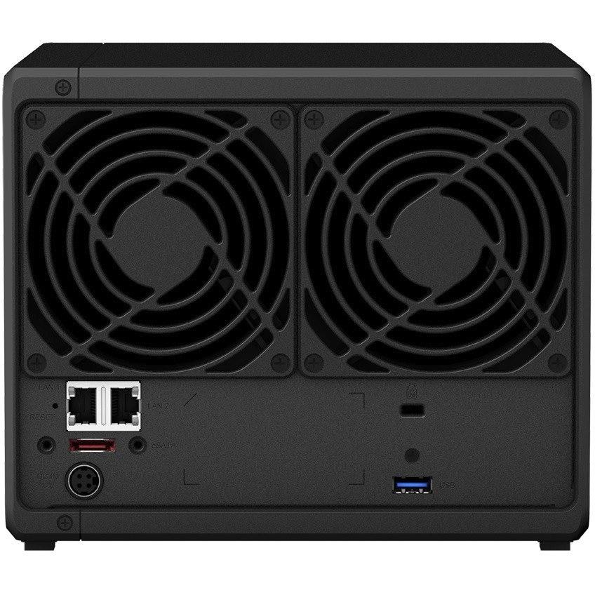 Synology DiskStation DS918+ 4 x Total Bays SAN/NAS Storage System - Intel Celeron Quad-core (4 Core) 1.50 GHz - 4 GB RAM - DDR3L SDRAM Desktop
