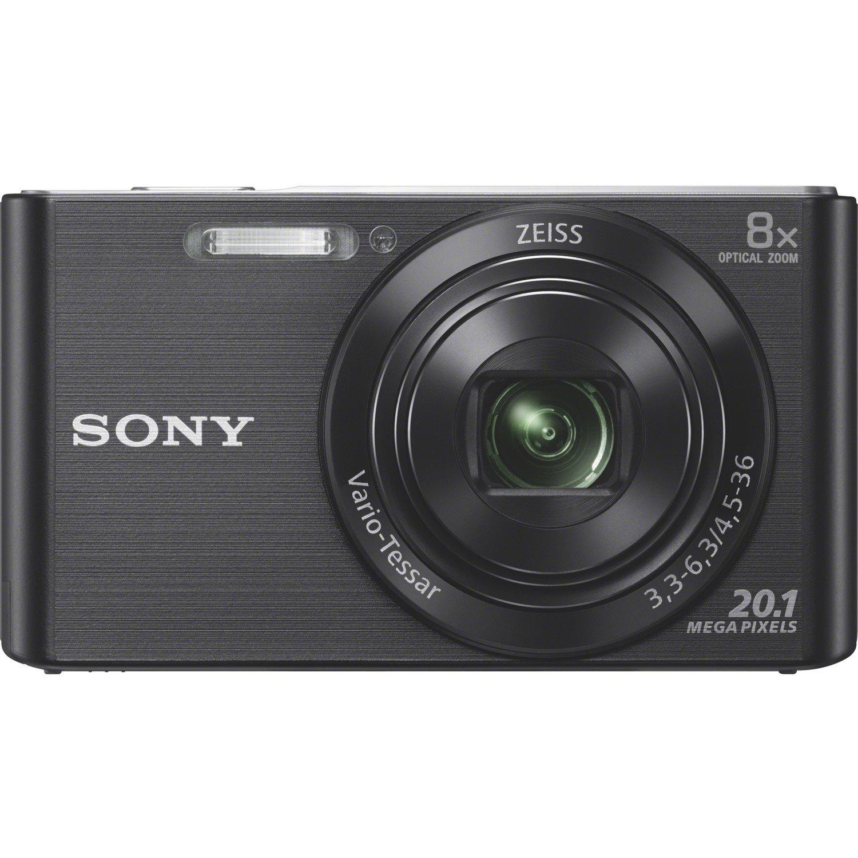 Sony Cyber-shot DSC-W830 20.1 Megapixel Compact Camera - Black