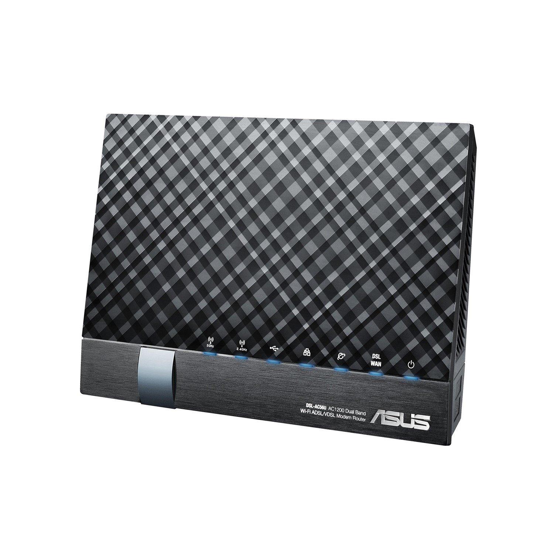 Asus DSL-AC56U IEEE 802 11ac ADSL2+, VDSL2, Ethernet, Cellular  Modem/Wireless Router