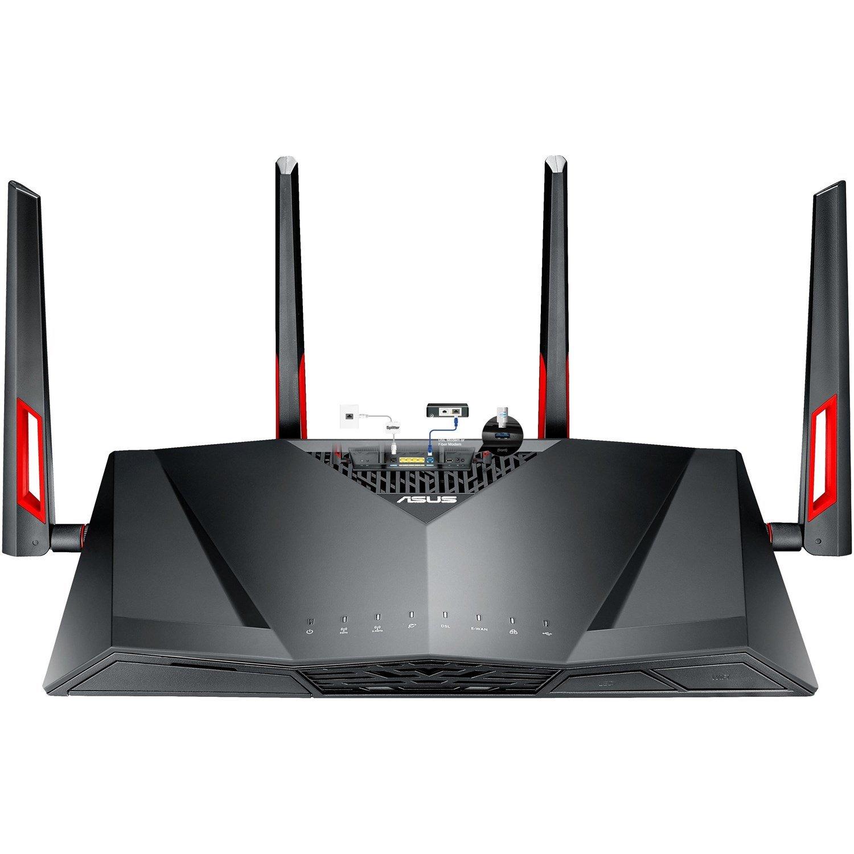 Asus DSL-AC88U IEEE 802.11ac ADSL2, Ethernet, VDSL2 Modem/Wireless Router