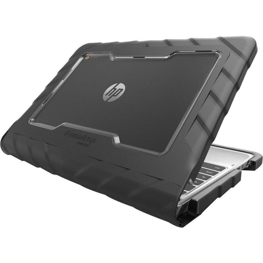 Gumdrop Drop Tech Case for Chromebook, Notebook - Black, Transparent