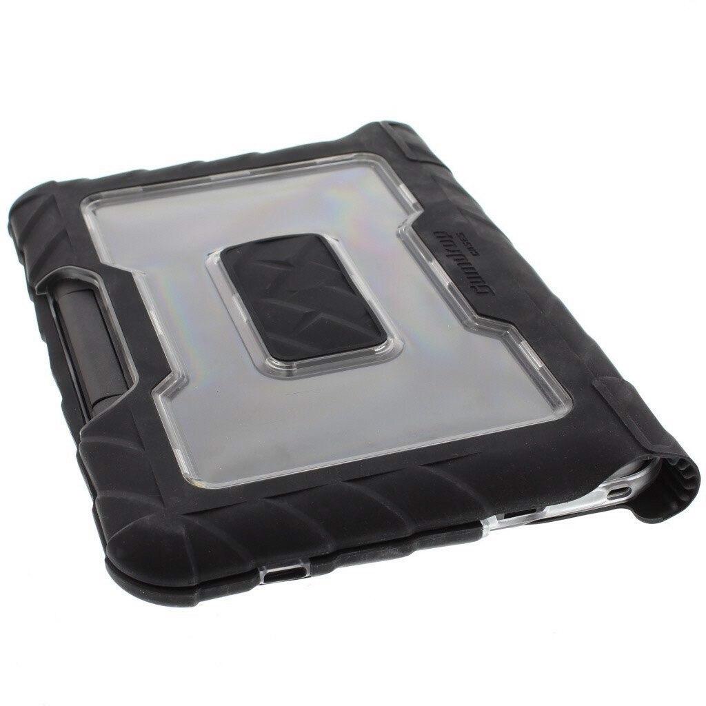 Gumdrop DropTech Case for Chromebook - Transparent, Black, Smoke