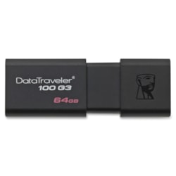 Kingston DataTraveler 64GB 100G3 USB 3.0 Flash Drive