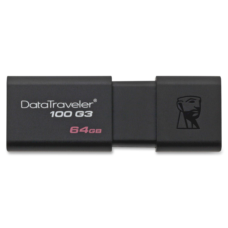 Kingston DataTraveler 64GB 100G3 USB 3.0 Flash Drive
