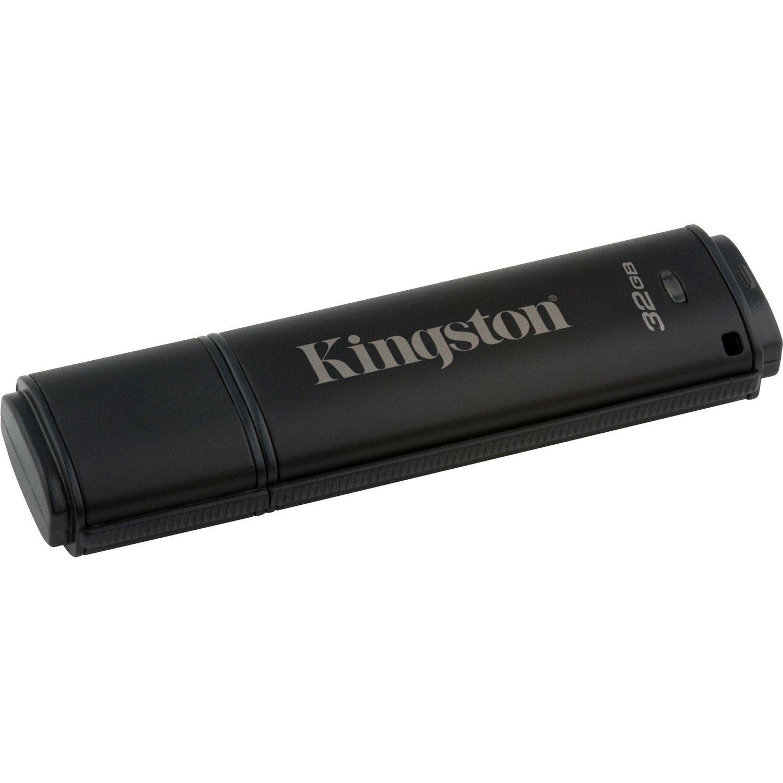 Kingston DataTraveler 4000 G2 32 GB USB 3.0 Flash Drive - 256-bit AES