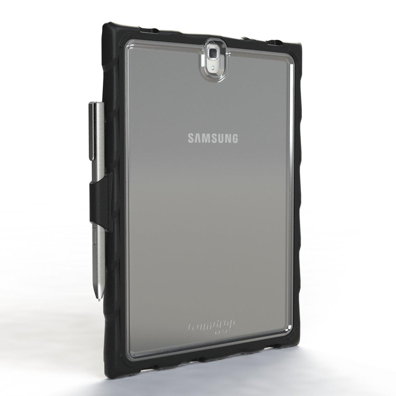 Gumdrop DropTech Case for Tablet - Textured - Smoke