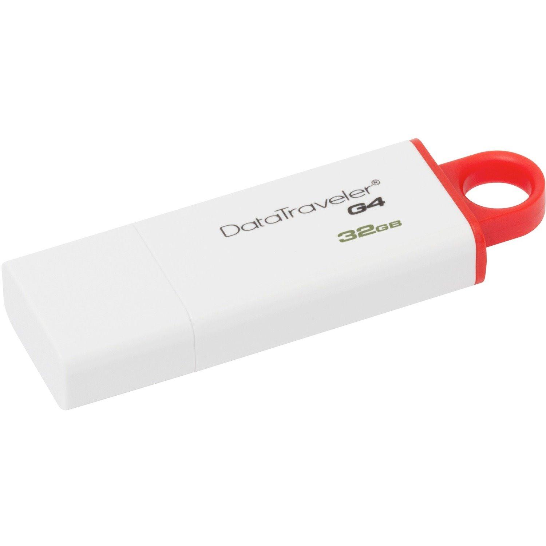 Kingston DataTraveler G4 32 GB USB 3.0 Flash Drive - Red
