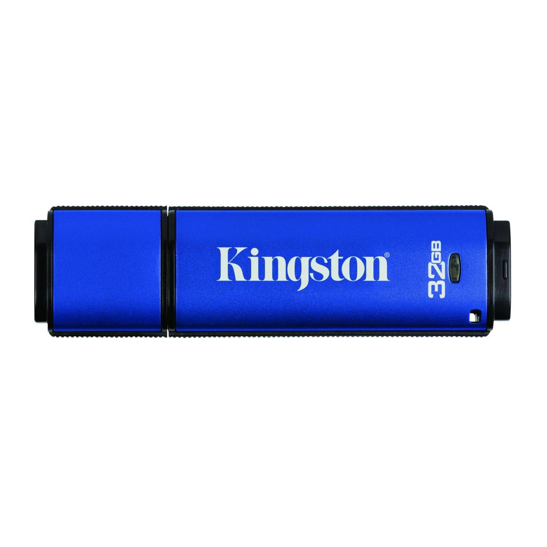 Kingston DataTraveler Vault 32 GB USB 3.0 Flash Drive