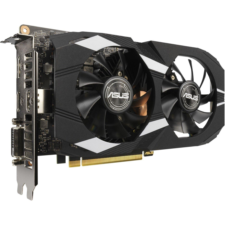Asus nVidia Dual-Gtx1660ti-O6g Dual GeForce GTX1660Ti GDDR6 6GB Oc Edition