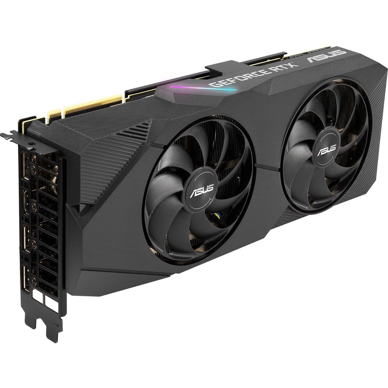 Asus Dual DUAL-RTX2070S-8G-EVO GeForce RTX 2070 SUPER Graphic Card - 8 GB GDDR6