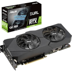 Asus Dual Dual-RTX2080S-O8G-EVO-V2 GeForce RTX 2080 SUPER Graphic Card - 8 GB GDDR6