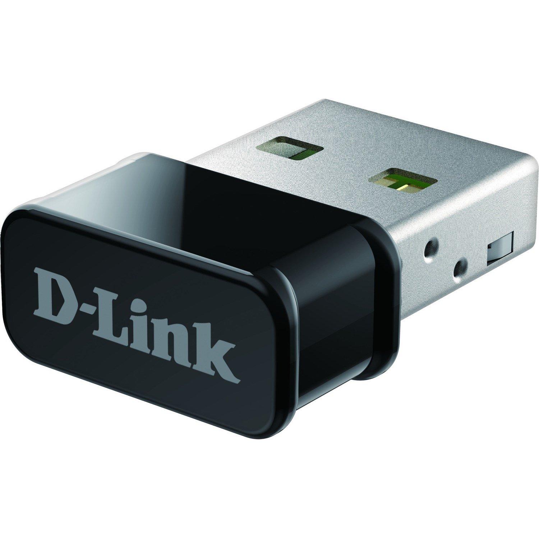 D-Link DWA-181 IEEE 802.11ac - Wi-Fi Adapter for Desktop Computer/Notebook