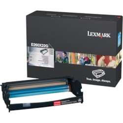 Lexmark E260X22G Laser Imaging Drum - Black