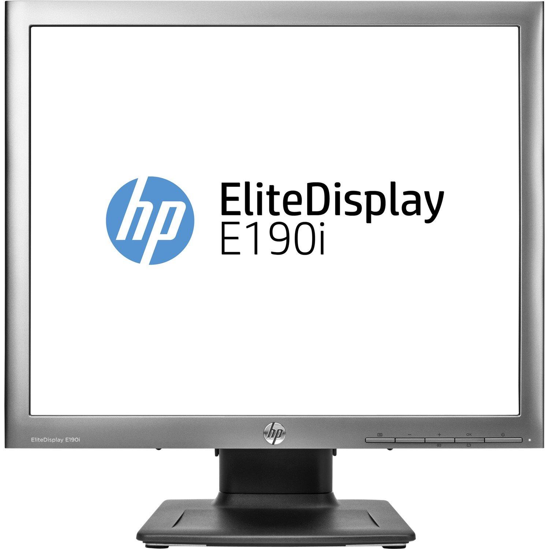 "HP Elite E190i 48 cm (18.9"") SXGA WLED LCD Monitor - 5:4 - Black"