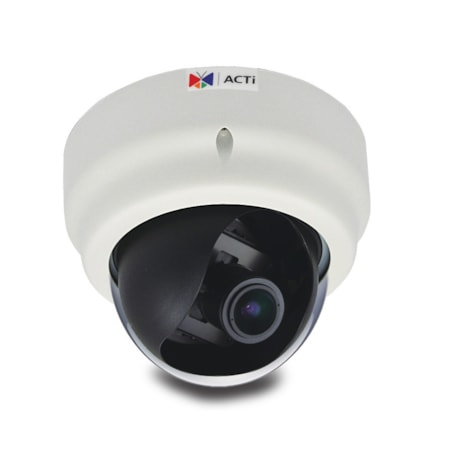 ACTi E67 2 Megapixel Network Camera - Dome