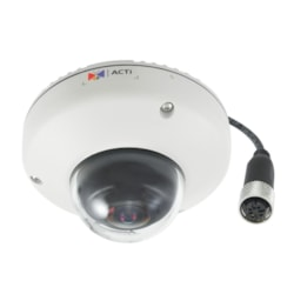 ACTi E923M 10 Megapixel Network Camera - Colour