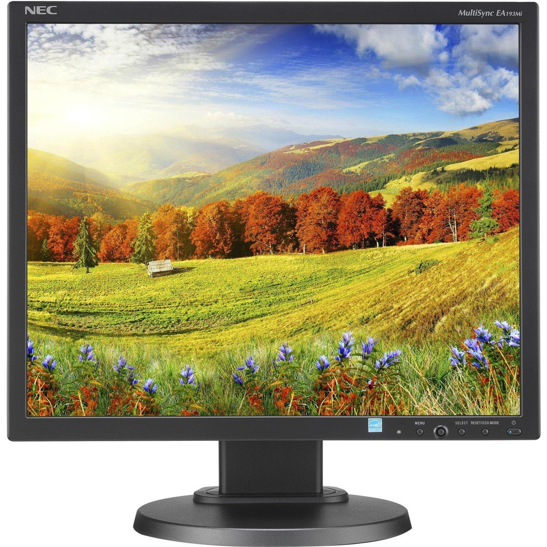 "NEC Display MultiSync EA193MI-BK 48.3 cm (19"") SXGA LED LCD Monitor - 5:4 - Black"